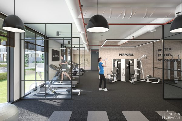 Ellington_Belgravia II_Interior Visual_Fitness Studio