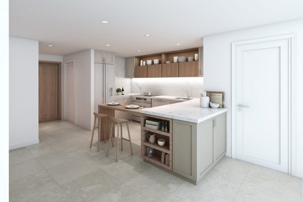 Ellington_Somerset Mews_Interior Visuals_Kitchen