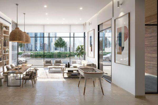 Ellington_The Sloane by BH_Interior Visual_Reception Lobby
