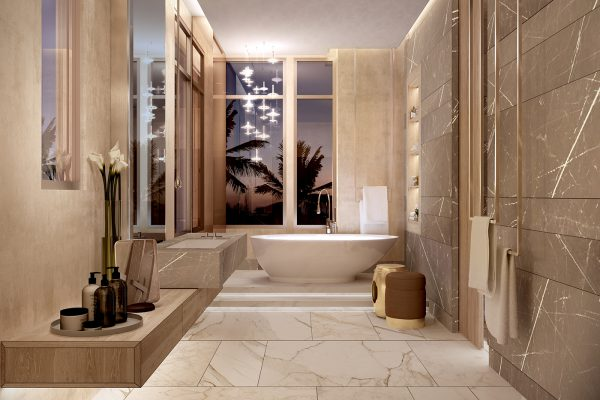 Palm Villas_Interior Visual_Master Bathroom 01