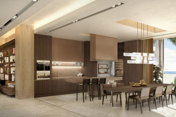 Palm Villas_Interior Visuals_Kitchen